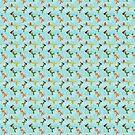 Coney Island Mermaid Pattern by lasirenadesign