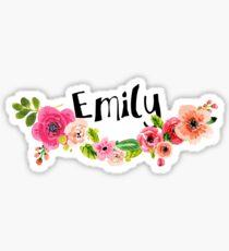 Emily Floral Sticker