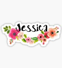 Jessica Floral Sticker