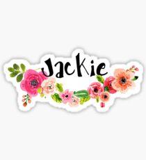 Jackie Floral Sticker