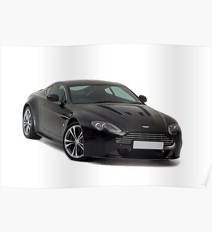 Aston Martin V12 Poster