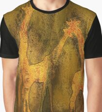 Moods Of Africa - Giraffes Graphic T-Shirt