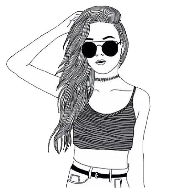 tumblr girl by bella-batman