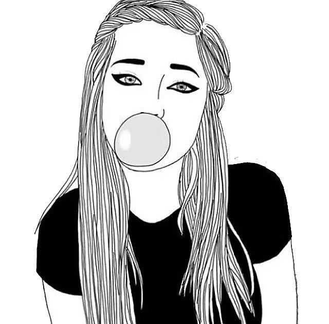 bubble gum  by bella-batman