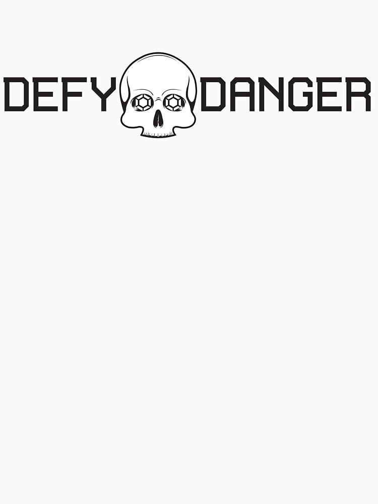 Defy Danger Logo - White by defydanger