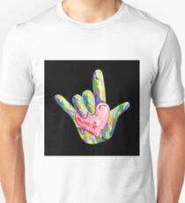 ASL - I HEART YOU! Unisex T-Shirt
