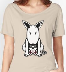 English Bull Terrier Tee  Women's Relaxed Fit T-Shirt