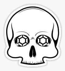 Defy Danger Skull Sticker Sticker