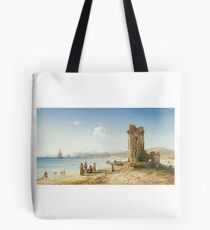 CARLO BOSSOLI  THE RUINS OF CHERSONESUS, CRIMEA Tote Bag