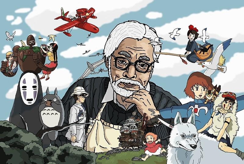 """""""Hayao Miyazaki - Tribute"""" Posters by Juggernaut-Art ..."""