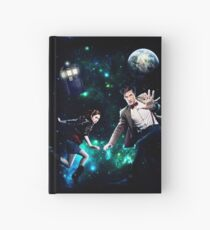 Amy and The Doctor in Space Hardcover Journal