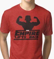 Star Wars - The Empire Lifts Back Tri-blend T-Shirt