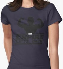 Star Wars - The Empire Lifts Back Womens Fitted T-Shirt