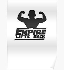 Star Wars - The Empire Lifts Back Poster