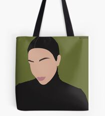 Military Kim Kardashian  Tote Bag