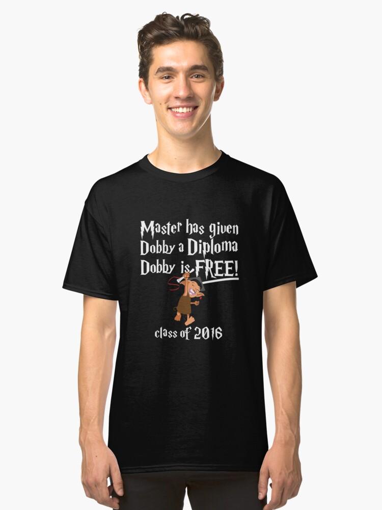 Dobby Graduation 2016 Classic T-Shirt Front