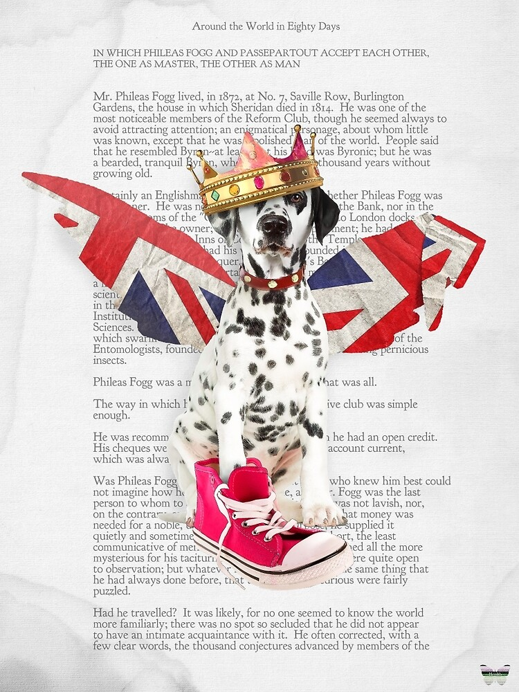 Phileas Fogg dog collage chapter one by Pranatheory