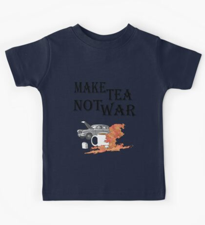 make tea not war 2 Kids Clothes