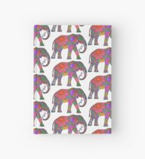Psychedelic Elephant Hardcover Journal