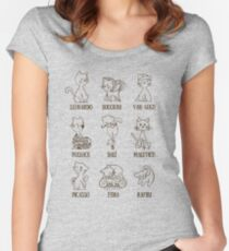 Art History Women's Fitted Scoop T-Shirt