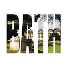 Royal Crescent, Bath by MissElaineous Designs