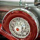 Duesenberg Spare Tire  by eegibson