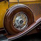 Auburn 12 Spare Tire by eegibson