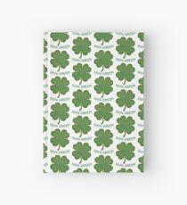 Irish Shamrock - 100% Green Hardcover Journal