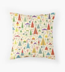 Paper Airplane 60 Throw Pillow