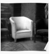Pinhole Square Chair Poster