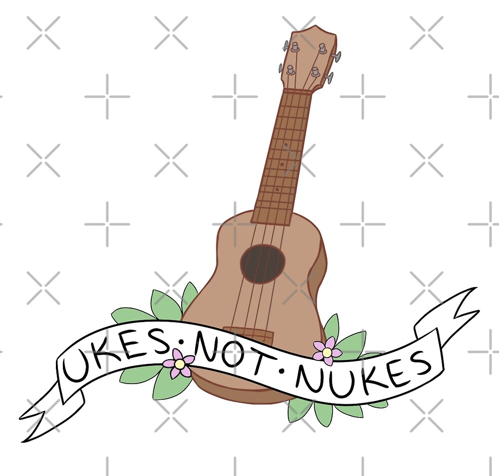 Ukes Not Nukes by allimarie0