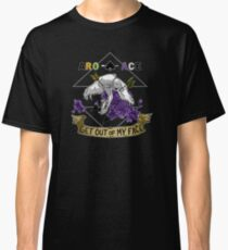 Aro+Ace - Get Out of My Face Classic T-Shirt