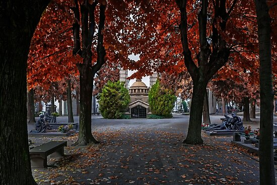 A Monumental Autumn in Milan  by CarolJapp