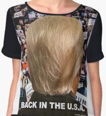 Trump: Back in the USA 2 Chiffon Top