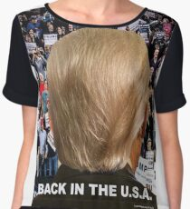 Trump: Back in the USA 1 Chiffon Top