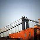 manhattan bridge by paolo amiotti