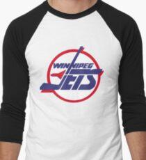 4e3dba95d30 Winnipeg jets Men s Baseball ¾ T-Shirt