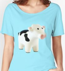 Moo cow Women's Relaxed Fit T-Shirt