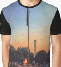 The Dhaka Shrine of Liberation Graphic T-Shirt