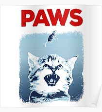 Kitty Jaws Poster