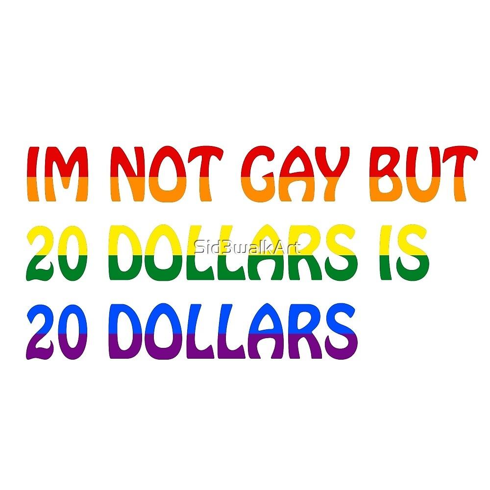 Funny Gay Humour Comedy Joke  by Sid3walkArt