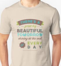 Beautiful Tomorrow (For light backgrounds) T-Shirt