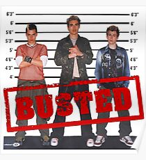 Busted circa 2002 Poster