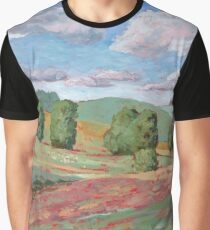 Roadside, A703, Scottish Borders, Scotland  Graphic T-Shirt