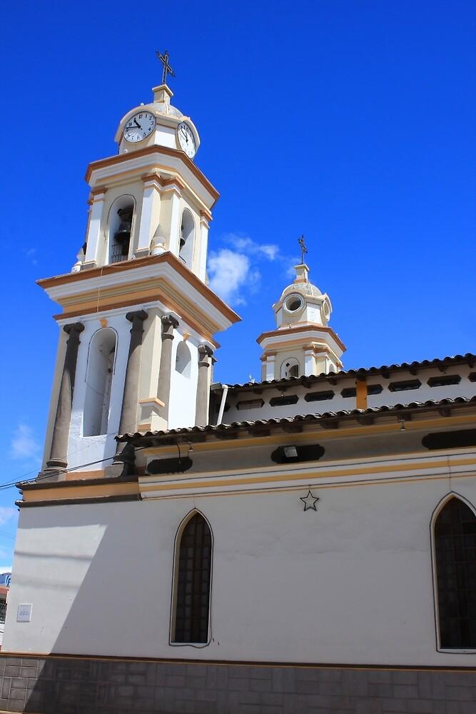 Catholic Church in Atuntaqui by rhamm
