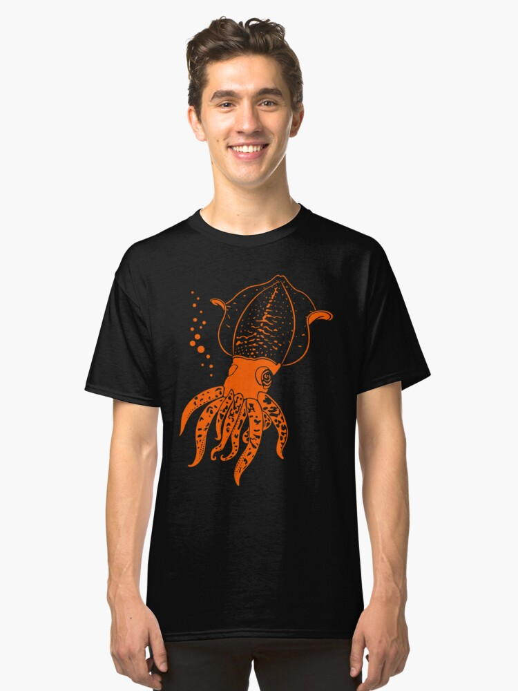 Squid Classic T-Shirt Front