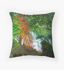 My secret tropical place Throw Pillow