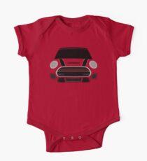 Red italian Job Short Sleeve Baby One-Piece