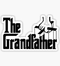 Grandfather Humour Godfather Joke Funny Comedy Sticker