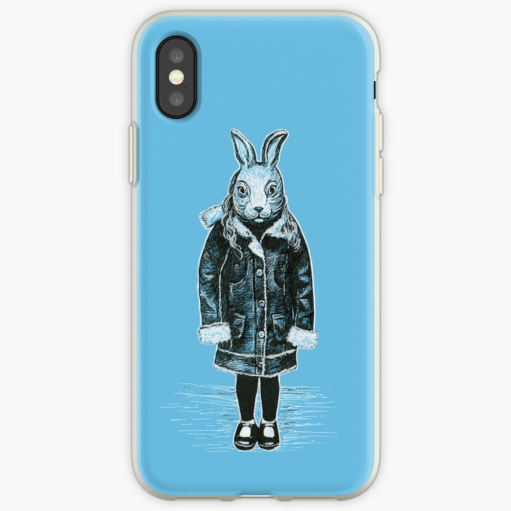 Winter White Rabbit iPhone Case & Cover